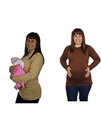 BabyTENS - Camiseta de manga larga - para mujer