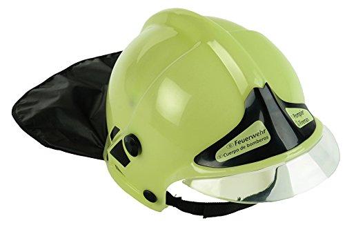 Theo Klein 8944 - Feuerwehr-Helm, neon -
