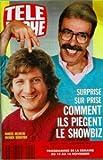TELE POCHE [No 1291] du 05/11/1990 - marcel beliveau et patrick sebastien - surprise sur prise