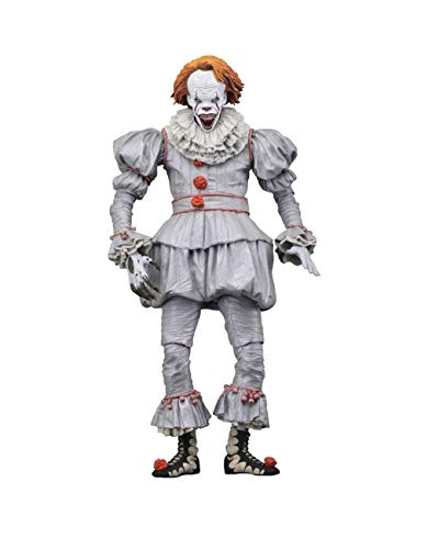 Es King Clown Von Stephen Kostüm - Stephen Kings - Es 2017 - Actionfigur - Ultimate - Pennywise Clown - Well House - 18 cm