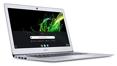 Acer Chromebook 14 CB3-431-C6UD 35,6 cm (14 Zoll Full HD IPS matt) Notebook (Intel Celeron N3160, 4GB RAM, 32GB eMMC, Intel HD Graphics, Google Chrome OS) silber - 3