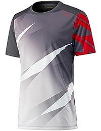 Head Vision Graphic Camiseta de Tenis, Niños, Gris (Anthracite), ...
