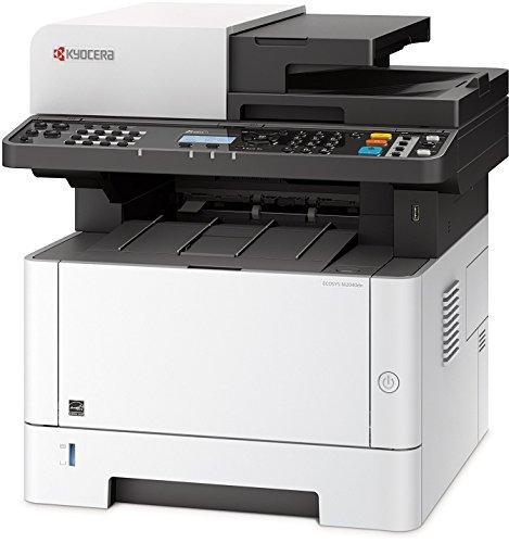 Kyocera Ecosys M2040dn SW Multifunktionsdrucker, Multifunktionssystem Drucken, Kopieren, Scannen, mit Mobile-Print-Unterstützung für Smartphone und Tablet, Schwarz-Weiß