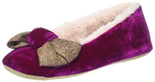 Ruby & Ed Damen Orchid Rosa Shimmer Bow Ballerina Sneaker Rosa (orchidea)