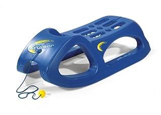 Rolly Toys rollySnow Cruiser Kinderschlitten (Alter ab 3 Jahre, Stahlschienen, Kunststoffschlitten, Farbe blau) 200290 (B0002HZQR8)   Amazon Products
