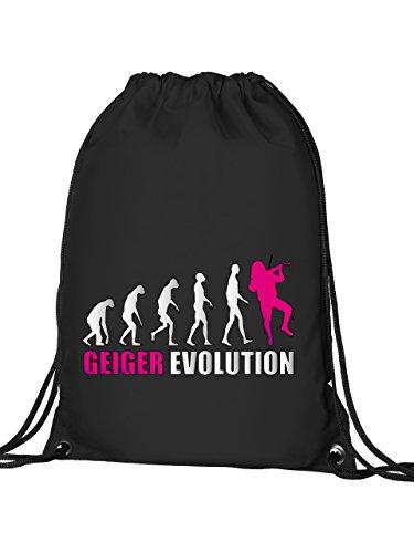 GEIGER EVOLUTION 588 Turnbeutel (Schwarz-Pink)