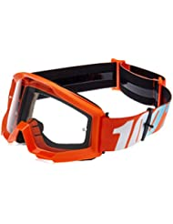 100% Kids Cross Gafas The Strata Naranja