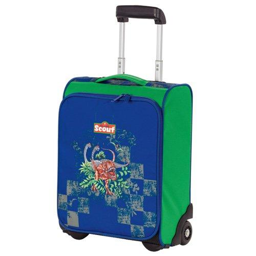 Scout 25510069800 Reisetasche Kindergepäck, 21 Liter, Blau