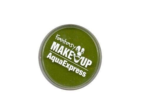 Peinture corporel maquillage AQUA fard à l' eau masque visage - Vert pomme