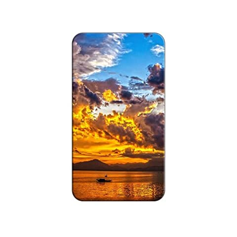 Boat Silhouette Sunset Da Nang Bay Vietnam Metal Lapel Hat Shirt Purse Bag Pin Tie Tack Pinback