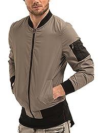 Amazon.es: chaqueta moto - trueprodigy / Chaquetas / Ropa de ...