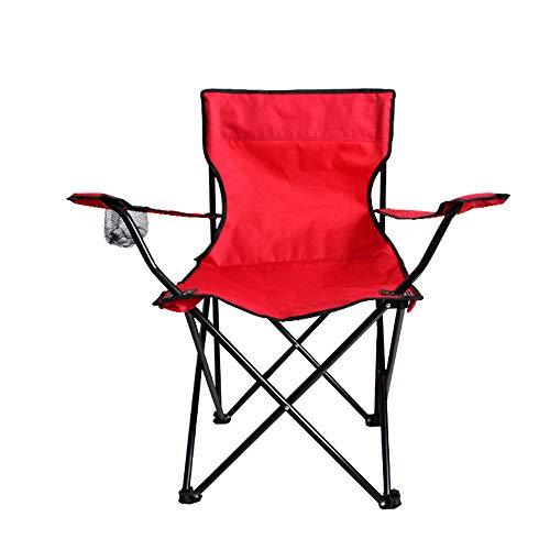 Outdoor-Freizeit Camping Klappstuhl, leichte tragbare Klappsitz, Outdoor, Angeln, Urlaub, Strand, Reisetasche