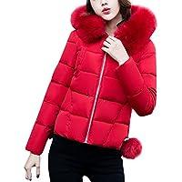 VENMO Fashion Solid Frauen Mantel Lässiger Dicker Overcoat Winter schlank  Daunenjacke Parka Steppjacke gesteppt mit Kordeln 60edd7af63