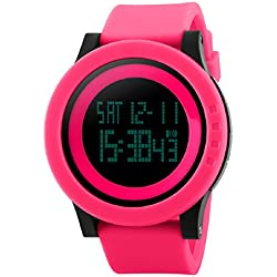Skmei Multi function Waterproof Sports Watch for Women and Girls