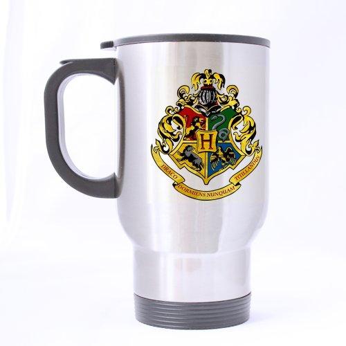 École Harry Potter, tasse de voyage étanche personnalisé pour bouteille de sport-Argent-Tasses à café Bureau tasse 14 Cl Home Deux côtés imprimés