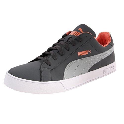 Puma Smash Vulc Unisex - Erwachsene Sneakers Dark Shadow