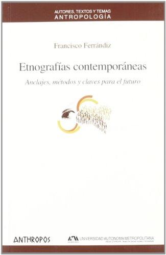 Etnografías Contemporáneas (Att Antropologia)