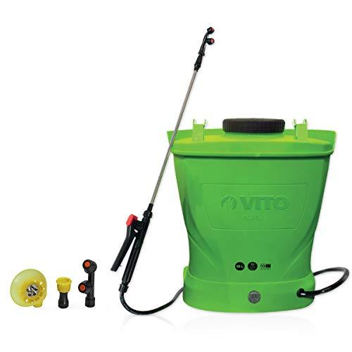 Pulvérisateur à batterie VITO 12V/8AH 16L 6 bars max autonomie 4h chargeur inclus Végetaux jardin...
