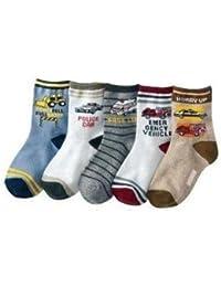 5er Pack Baby Socken 'Jungen' Babysocken 0-6 Monate