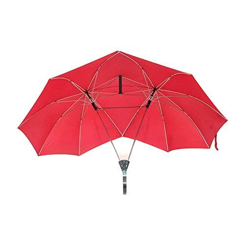 Ombrello doppio per due persone, antivento, extra large, 16 stecche, regalo per chi si ama colore 1.