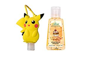 Kleanse Pocketbac Hand Sanitizer & Pikachu Holder For Baby (30Ml)