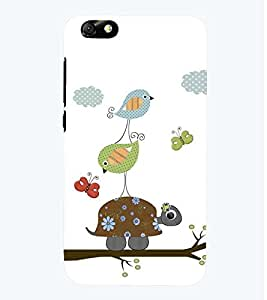 printtech Birds Pattern Back Case Cover for Huawei Honor 4X::Huawei Glory Play 4X