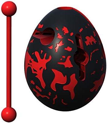 Smart Egg Lava - - - Puzzle 3D Labyrinthe et Jouet Éducatif pour  s, Niveau 8 (Facile) d'une Série de Casse-Tête - Distraction et Défi à Résoudre Le Labyrinthe à L'Intérieur de L' Oeuf | Nouvelle Arrivée 70a805