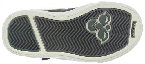 Hummel Unisex-Kinder Stadil Leather Sneaker Jr High-Top Grau (Dark Shadow)