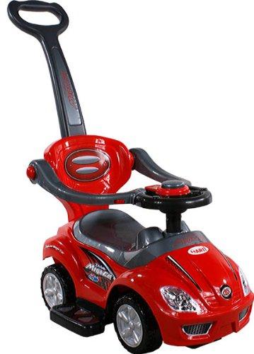 Baby Car - Auto per bambini ARTI 381 Mega Car Deluxe Red - Spingere - Giocattolo da tirare - Ride-On - Attivita giocattolo