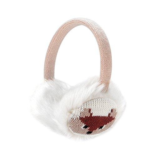Sudawave Donna Calzamaglia regolabile dellorecchio del fumetto delle orecchie di pelliccia del faux del faux delle ragazze delle donne Paraorecchie