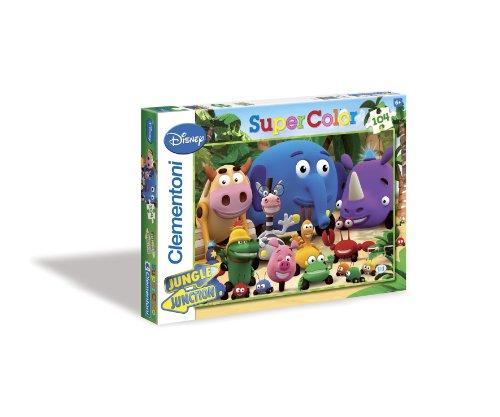 Imagen 1 de Clementoni - Puzzle Friends in the Jungle 104 Piezas 27505.2