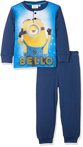 Minions hq7269.i06, pigiama bambino, blu (navy), 110 (taglia produttore:5 anni)