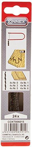 t Holz Zarsa sortiert 24 Stück, COXT806015 ()