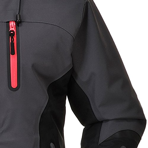 Cox Swain Damen 3 Lagen Titanium Funktions/Hardshelljacke Kabru 8.000 Wassersäule 5.000 Atmungsakt, Colour: Grey/Black - Pink Zipper, Size: XS - 3