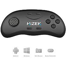 Bluetooth Fernbedienung, Hizek Mini Wireless Gamepads Mouse Music Player für 3D VR Brille, iOS Android PC(Batterie nicht eingeschlossen)