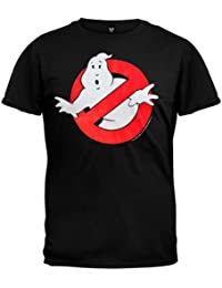 Old Glory - Ghostbusters - Mens Ghost Logo T-shirt