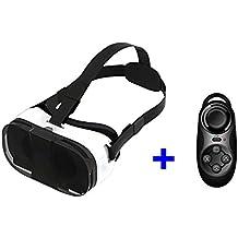 VR de realidad Virtual apropiado de caja de 3D gafas Google 3D gafas de Oculus Rift de cartón para 10,16 cm - 15,24 cm Smartphone + controlador Bluetooth
