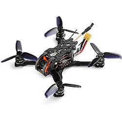 Ballylelly Drone RC con CameraGEPRC Phoenix 2.5 125 mm 5.8G 600TVL Cámara sin escobillas FPV Micro RC Drone de Carreras con Receptor Frsky de Alta Velocidad BNF