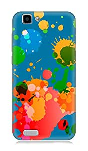 Worldwide Phone Case For Vivo V1 (Multicolor)