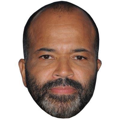 Jeffrey Wright Maske aus Pappe
