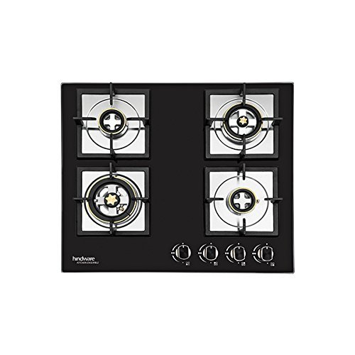 Hindware Kitchen Ensemble Flora 4B 60cm Built -In-Hobs (Black)