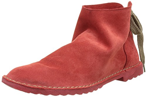 FLY London Dai460, Desert Boots Femme Rouge (Street Red 005)