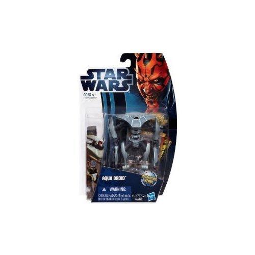 Star Wars Movie Clone Wars Action Figure - Aqua Battle Droid (Star Wars-droid-action-figuren)