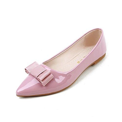 Welldone2017 Sconosciuto Ballerinas Pink 6 Donna Ballerine 698 ddrw5U