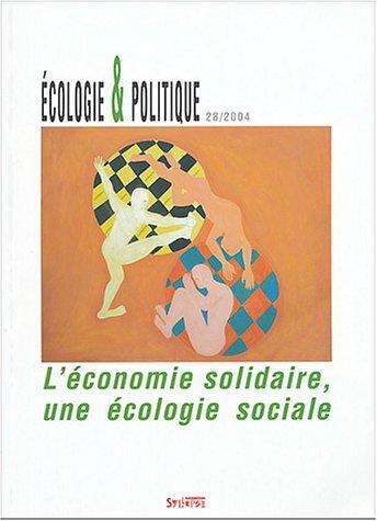 Revue Ecologie & Politique, numéro ...