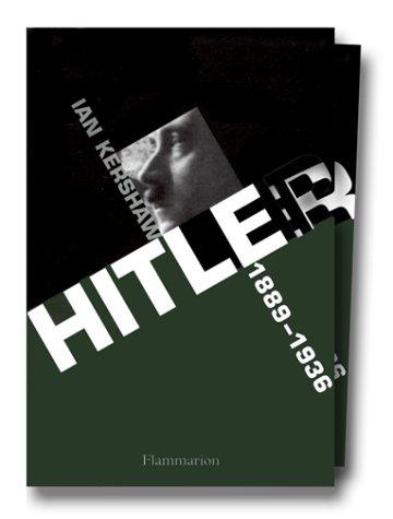 Hitler coffret 2 volumes : 1889-1936, Hubris. 1936-1945, Némésis