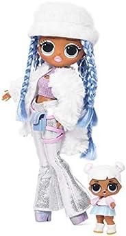 LOL Surprise! O.M.G. Winter Disco Snowlicious Fashion Doll & Sister, Multi-Colour, 56