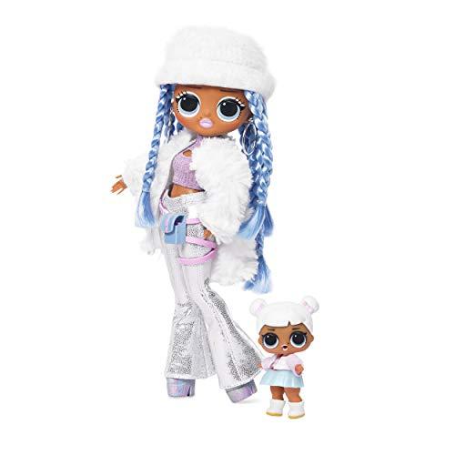 L.O.L. Surprise! 561828 L.O.L. Surprise O.M.G. Winter Disco Snowlicious Fashion Doll & Sister, Multi
