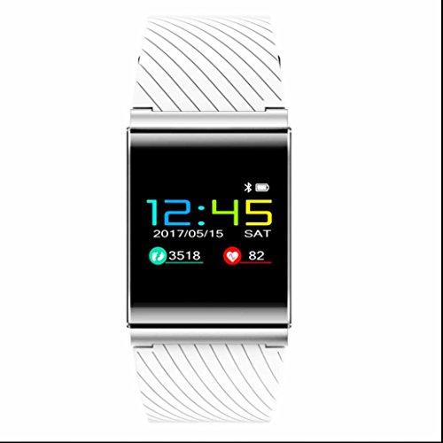 Bluetooth Smartwatch Telefon mit funktion Hochwertiges Schrittzähler empfindlicher Touch Screen Armband Bester Schlafanalyse Messung des Kalorienverbrauches für iOS Apple iPhone und Android Samsung LG HTC