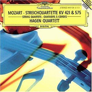 Streichquartette KV 421 und 575